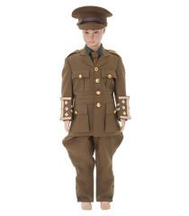 Childrens WW1 British officer Service Dress uniform