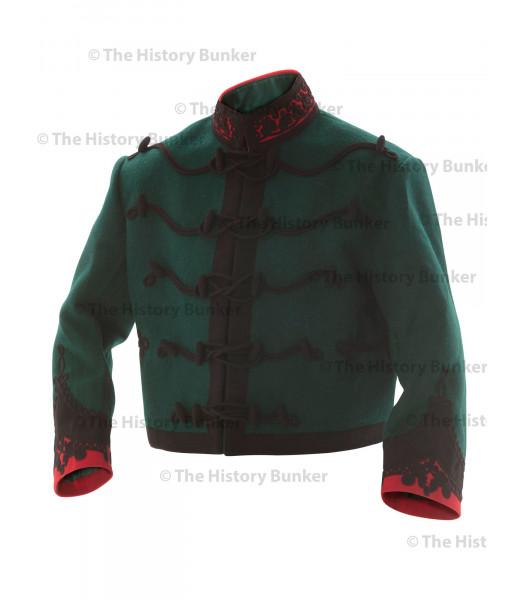 2nd Gurkha Rifles mess dress tunic