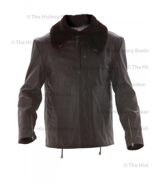 WW2 German Luftwaffe Defence of the Reich  Jet Pilots leather jacket BLACK