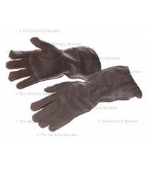 WW2 German Luftwaffe Fallschirmjager leather gloves