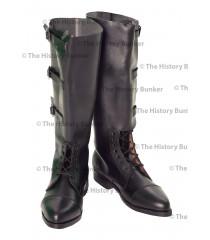 WW1 British Army officer boots - BLACK