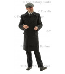 Edwardian Mans double breasted overcoat - GREY