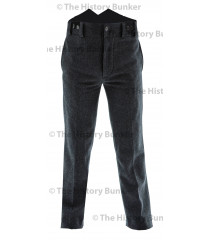 Edwardian mens trousers - blue