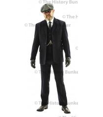 Edwardian Mens suit jacket - BLUE