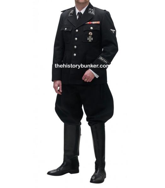 WW2 German M32 tricot tunic - black