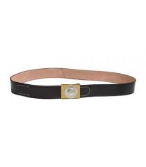WW1 German leather belt (black) with Imperial German buckle