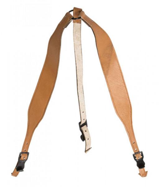 WW1 German leather y straps
