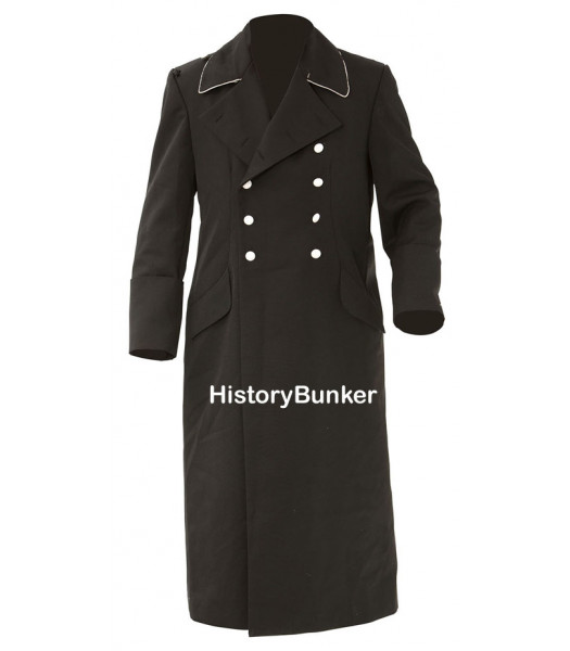 German M32 Allgemeine SS Enlisted Man Overcoat - Tricot