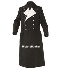 German M32 Allgemeine SS Officers Overcoat - Tricot