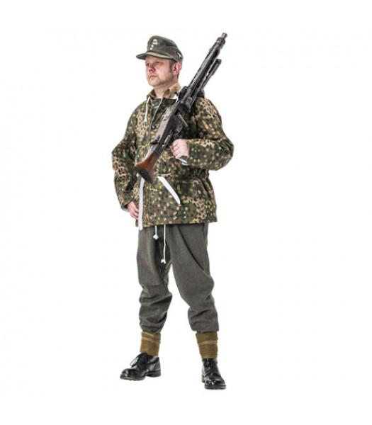 WW2 German SS pea dot winter parka coat
