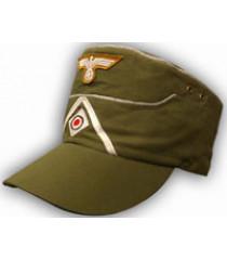 WW2 German Afrika Korps Field Cap DAK - With Insignia