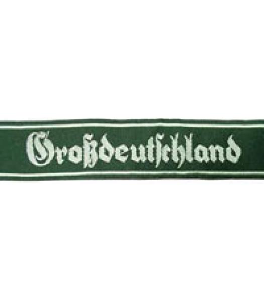 Grossdeutschland Cuff Title - Early Version