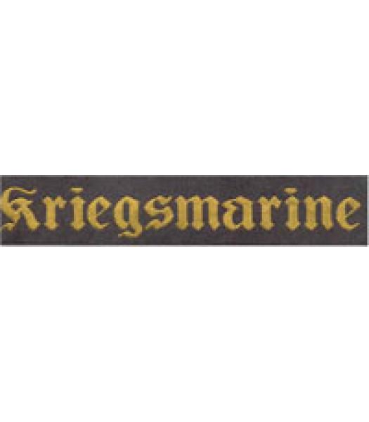 Kriegsmarine Cuff Title