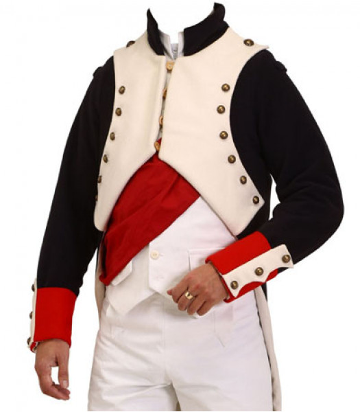 Napoleonic uniforms - Napoleon Bonaparte jacket coatee - Napoleonic uniforms
