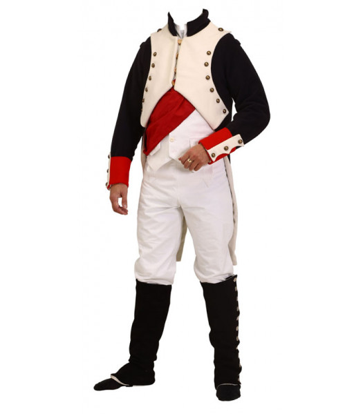Napoleonic uniforms - Napoleon Bonaparte full uniform - Steampunk Military uniforms