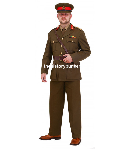 WW2 British Staff Officer Uniform Package FOR HIRE