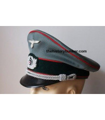 WW2 Heer Artillery German Officers Cap