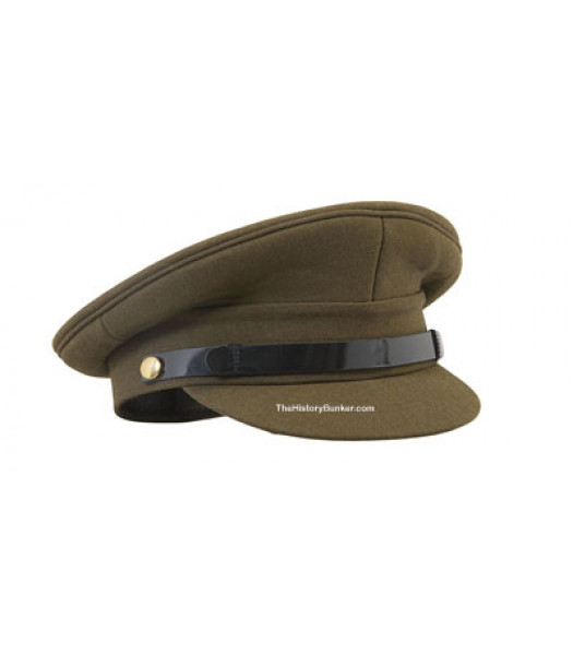 WW1 and WW2 British Army officers cap