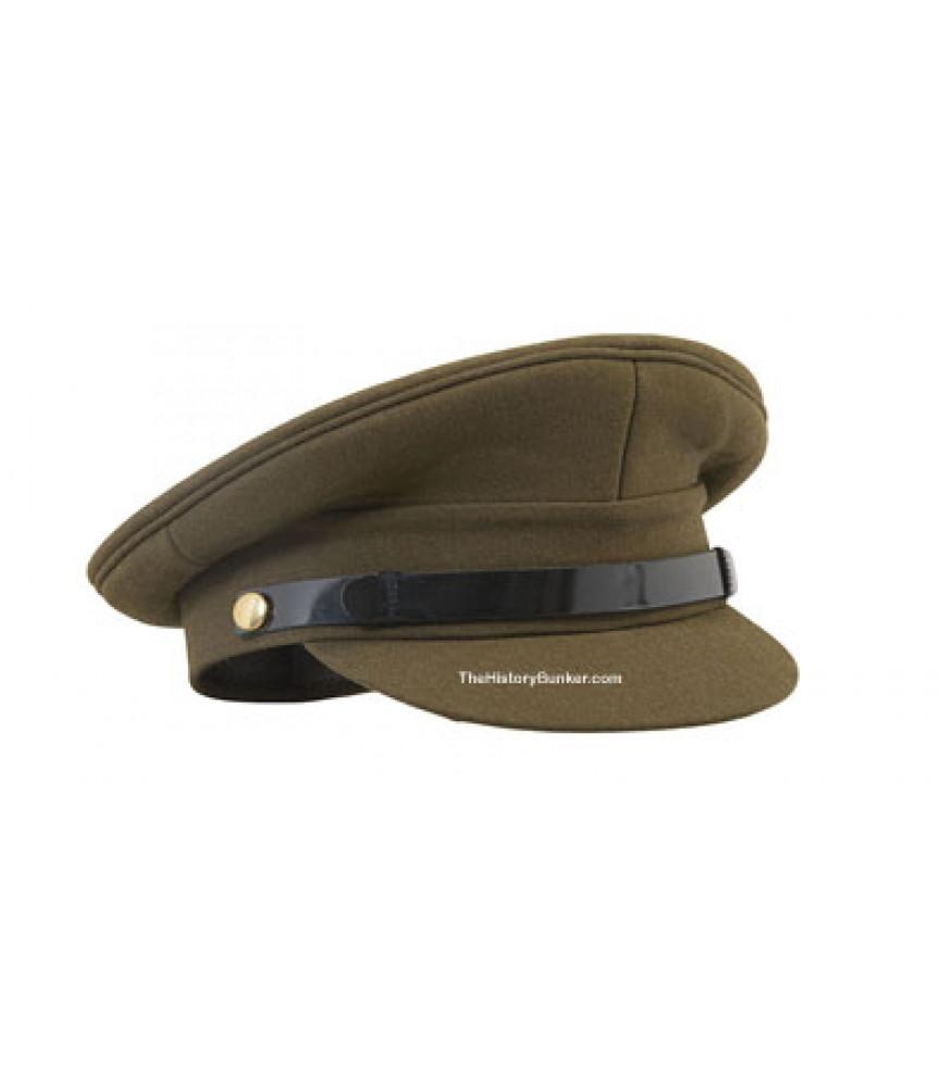 WW1 and WW2 British Army officers cap 784b6bddc38