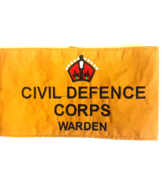 Civil Defence Armband - WW2 British insignia