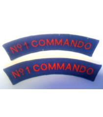 No 1 Commando shoulder titles