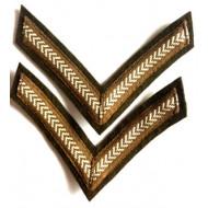 Lance Corporal Stripes - 1 Pair