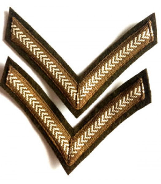 Lance Corporal Stripes - 1 Pair