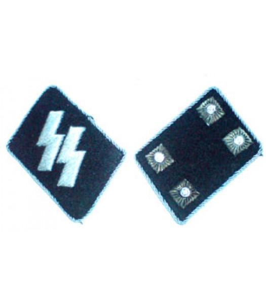 SS Sturmbannfuhrer (Major) Collar Tabs