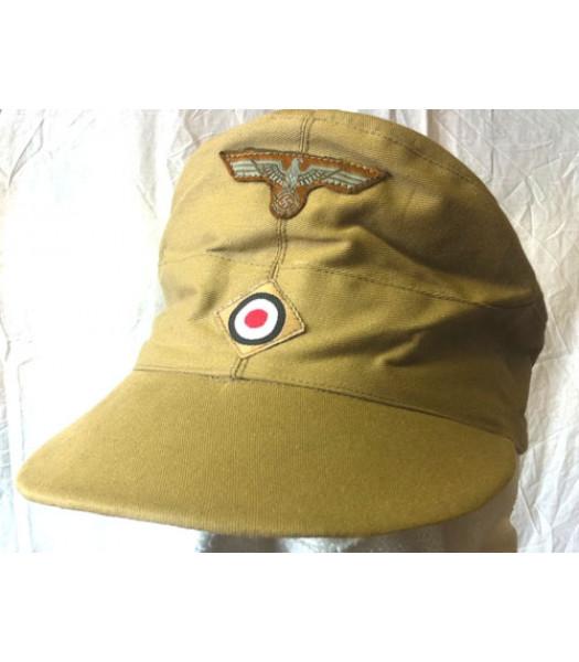 DAK cap - Tan With Insignia