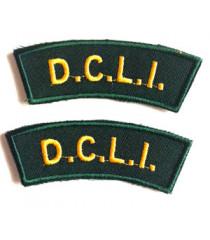 Devon and Cornwall Light Infantry Shoulder Titles