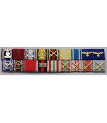 Sepp Dietrich ribbon medal bars
