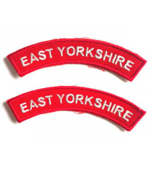 East Yorkshire Shoulder Titles