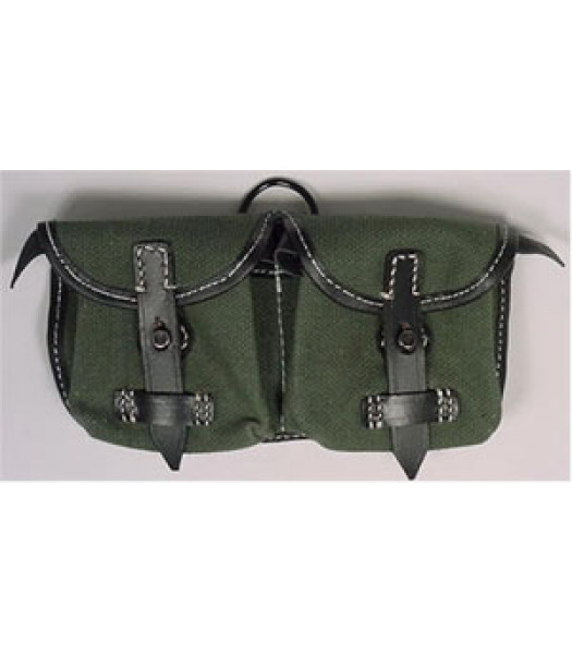 German G43 Canvas Ammo Pouches Green