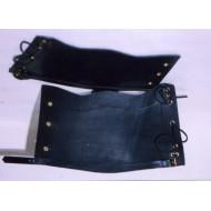 Victorian British Army replica leather gaiters