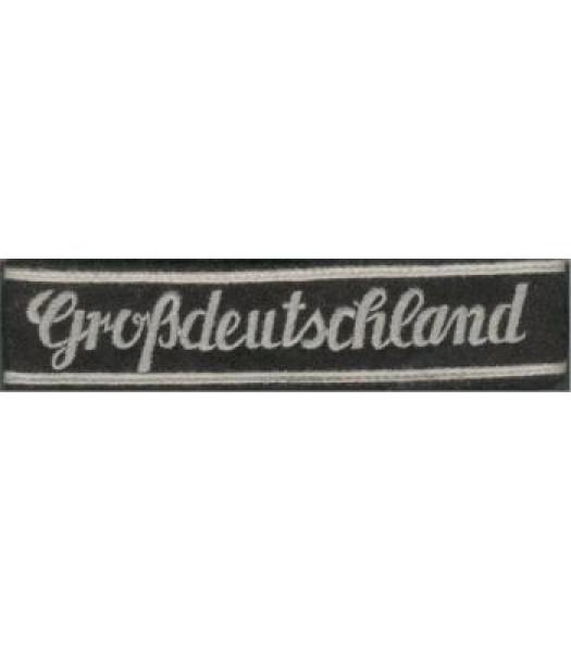 Grossedeutschland Enlisted Man Cuff Title