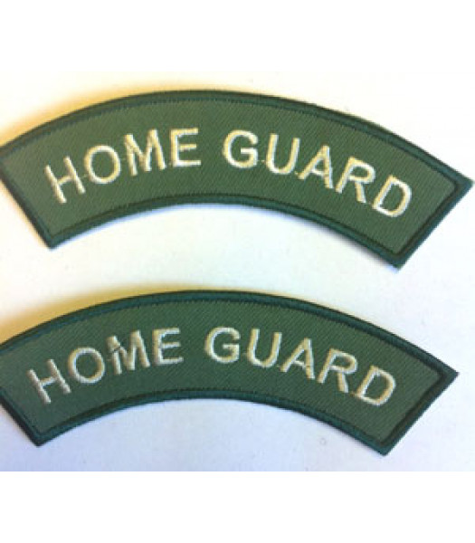 Home Guard Shoulder Titles