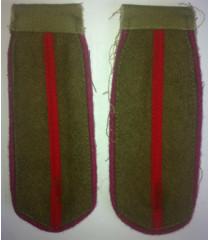 WW2 Junior Infantry Officer Shoulder Boards - Red Army Uniforms