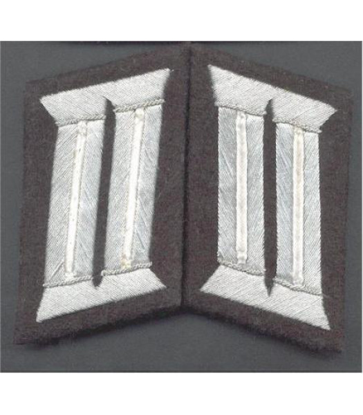 Heer Infantry Officer Collar Tabs