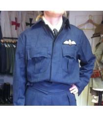 WW2 Ladies WAAF battle dress or work wear blouse