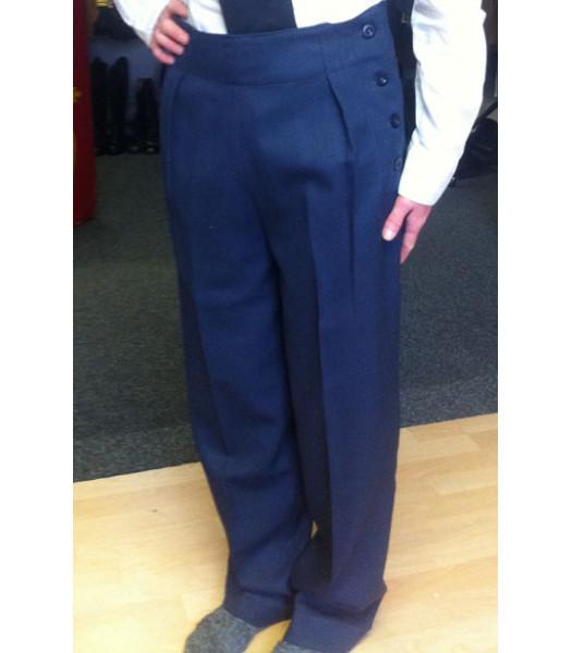WWII ladies WAAF battle dress or work wear trousers