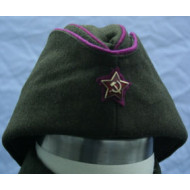 WW2 Soviet Red Army Officers side cap (Pilotka)
