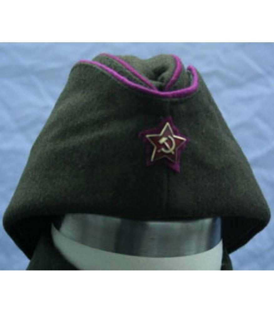 WW2 Soviet Red Army Officers side cap (Pilotka) 4cf919c2da7