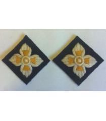 Royal Artillery Pips 1 pair - WW2 British insignia
