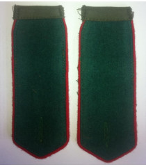 NKVD border guards shoulder boards - WWII RED ARMY UNIFORMS