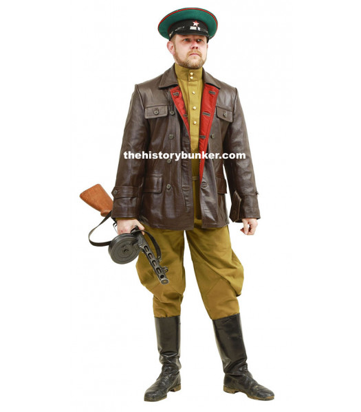 WW2 Soviet Red Army officer with leather jacket