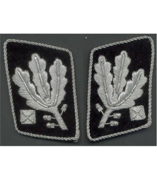 SS Obergruppenfuhrer 1st version collar tabs
