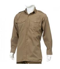 WW2 British Army Officers shirt tan