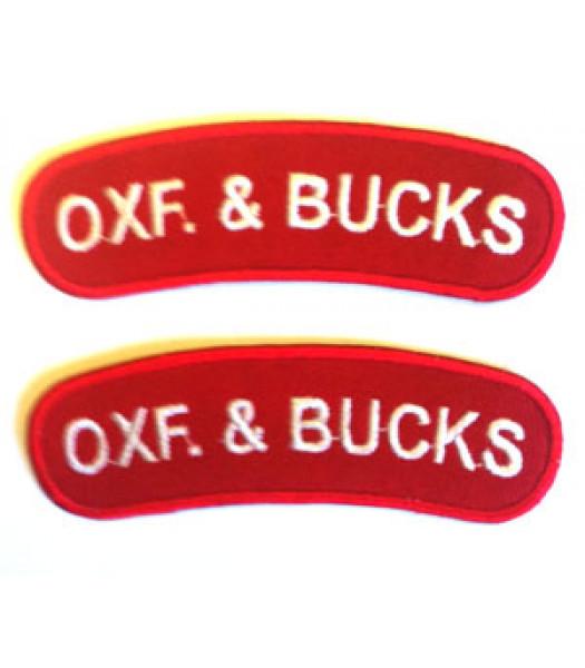Ox and Bucks Shoulder titles