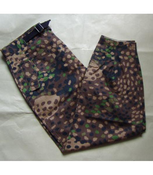 German Waffen SS Panzer Wrap Pea Dot Camouflage Trousers