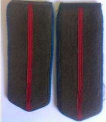 Junior Paratrooper Officer Shoulder Boards - WW2 Red Army Uniform